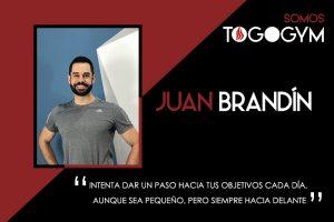 Conoce a Juan Brandín, instructor de TOGOGYM