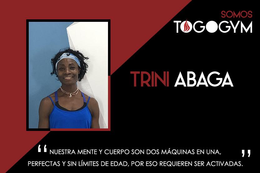 Conoce a Trini Abaga, instructora de TOGOGYM