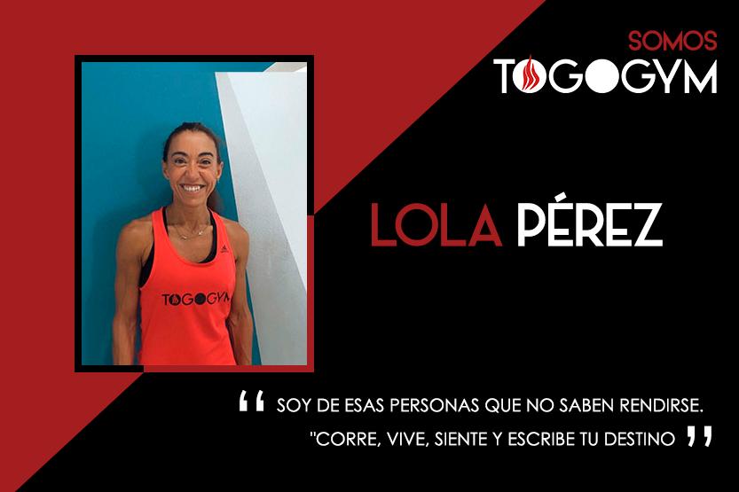 Conoce a Lola Pérez, instructora de ToGoGym